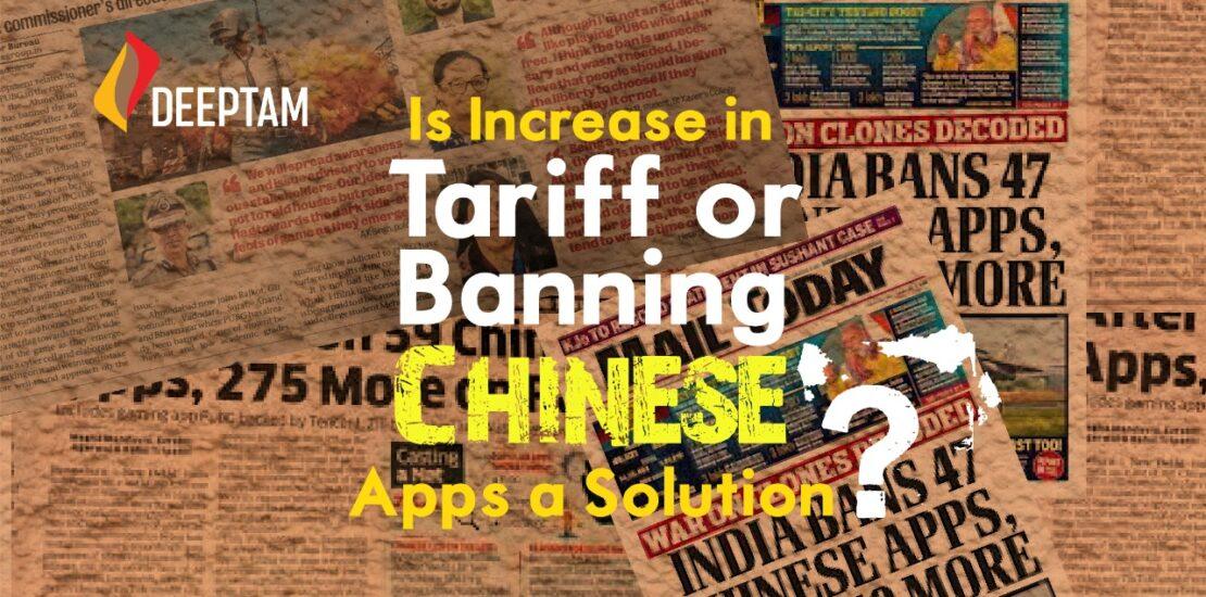 India china Trade war